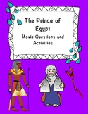 The Prince of Egypt Movie Questions ONLY