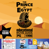 The Prince of Egypt Movie Guide | Questions | Worksheet (PG - 1998)