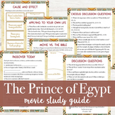The Prince of Egypt Movie Guide Study