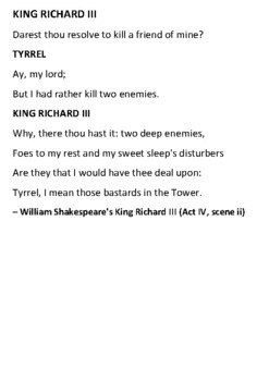 The Princes in the Tower Handout