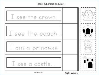 "ESL Activity: Vocabulary/Literacy Skills-""The Princess Blues""-ESL Newcomers Too"