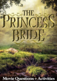 The Princess Bride Movie Guide + Activities - Answer Key Included