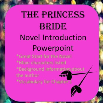Free The Princess Bride: Background Novel Introduction Powerpoint