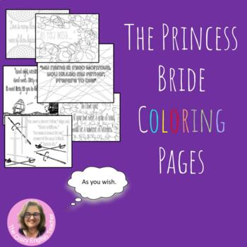 The Princess Bride Coloring Pages: Mini Posters