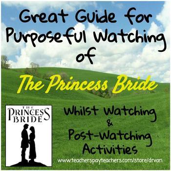 The Princess Bride: Film Study using Short Story Terminology