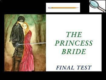 The Princess Bride by William Goldman - Final Test