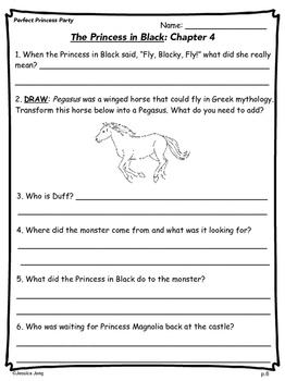 The Princess In Black (Book 2) - Study Guide