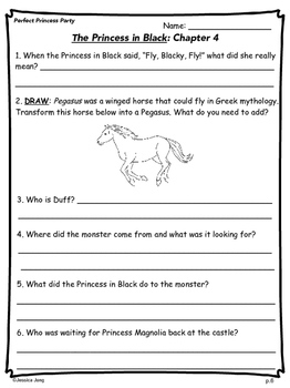 The Princess In Black (Book 2) - Study Guide