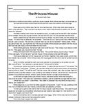 The Princess Mouse Folktale with Comprehensive Short Answer