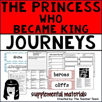 The Princess Who Became King Journeys 6th Grade Supplement
