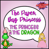 Bundle: The Princess and the Dragon & The Paper Bag Princess (Speech Therapy)