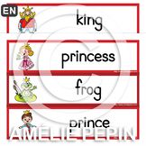 The Princess and the Frog - Illustrated Word Wall (12)