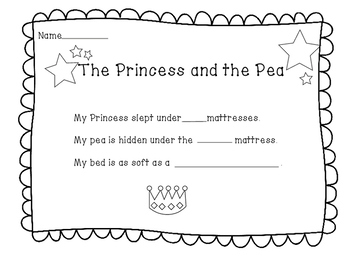 The Princess and the Pea Art Project