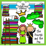 The Princess and the Pea Clipart