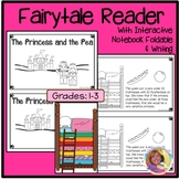 New! The Princess & the Pea Early Reader w/Interactive Fol