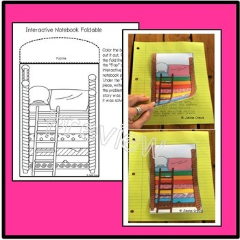 The Princess & the Pea  Reader w/Interactive Foldable & Writing