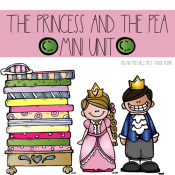 The Princess and the Pea: Mini Book and More!