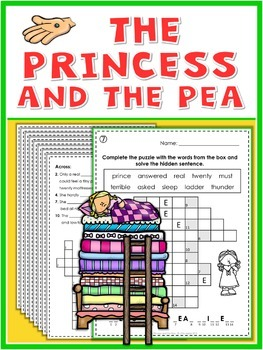 The Princess and the Pea  Puzzle Fun