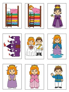 The Princess and the Pea - Sequencing and Alternate Ending