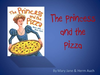 The Princess and the Pizza by Auch, Text Talk, Collaborative Conversations
