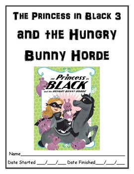 The Princess in Black and the Hungry Bunny Horde independent reading resource
