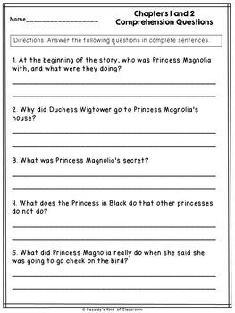 The Princess in Black Novel Study