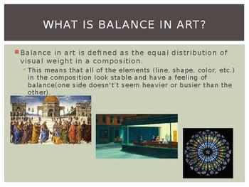 The Principle of Balance in Art