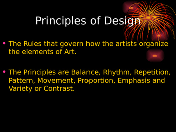 The Principles of Design PowerPoint