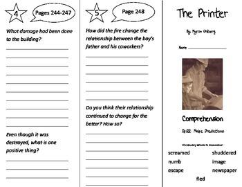 The Printer Trifold - Treasures 3rd Grade Unit 5 Week 4 (2009)