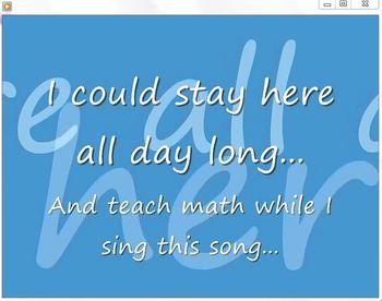 The Probability Song LYRICS