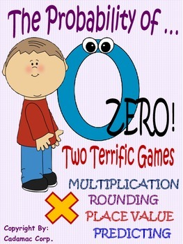 The Probability of Zero~Fun Thinking Games