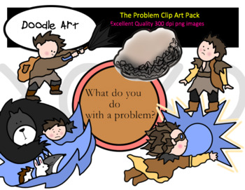 The Problem Clipart Pack