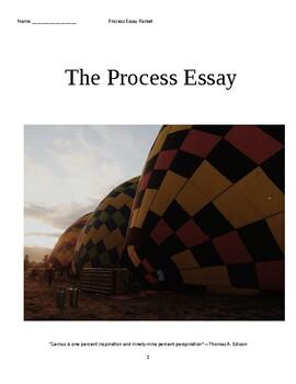 The Process Essay Unit Plan