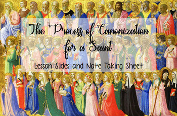 The Process of Canonization for a Saint