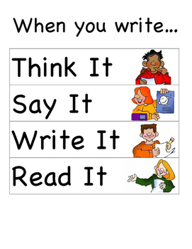 The Process of Writing a Sentences