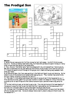 The Prodigal Son Crossword