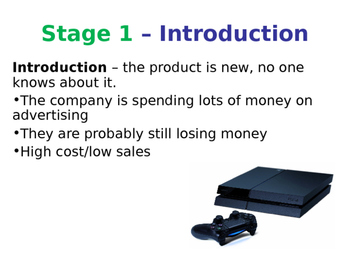 The Product Life Cycle - Marketing Mix - PPT & Worksheet - Business Studies