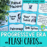 Progressive Era Flash Cards