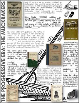 The Progressive Era (Interactive Note Pages)