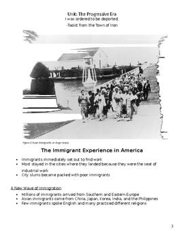 The Progressive Era Notes