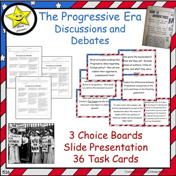 The Progressive Era Projects and Reviews