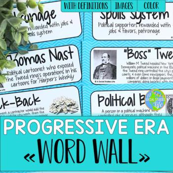 Progressive Era Word Wall