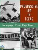 The Progressive Era in Texas Newspaper Project