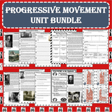 The Progressive Movement Era UNIT BUNDLE (Print and Digita