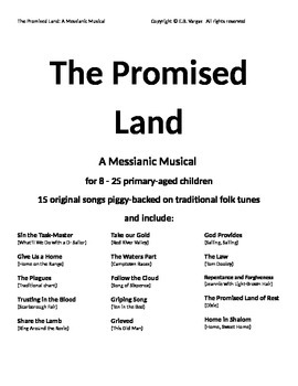 The Promised Land: A Messianic Musical