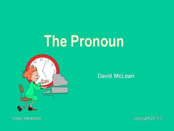 The Pronoun - the grammar series