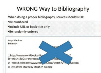 The Proper Way to Bibliography!