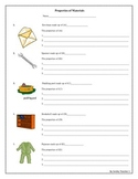 Free The Properties of Materials Worksheet