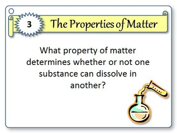 Properties of Matter - 32 Task Cards {Editable Template}