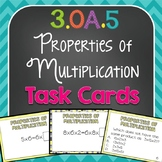 The Properties of Multiplication Task Cards {3.OA.5}